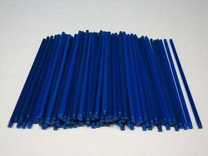 Replacement Parts and Pieces KNEX 100 Micro Light Blue Rods 4.5 in