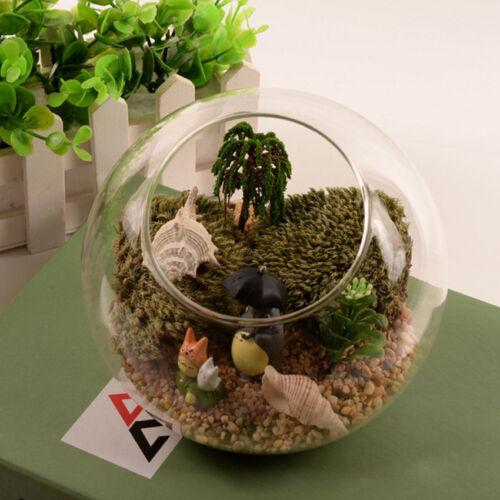 Globe Ball Glass Hanging Plant Terrarium Flower Vase Pot Wall Wedding Decor