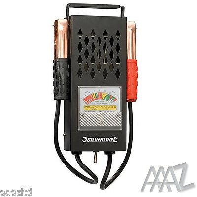 6V & 12V 100Amp Car Van Auto Battery Load Drop And Charging System Tester