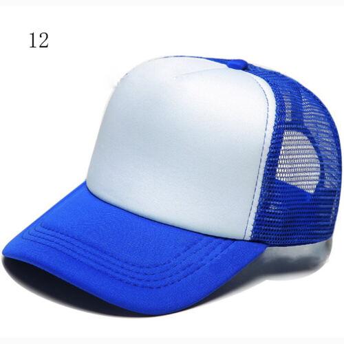 Unisex Men Women Snapback Hat Hip-Hop Adjustable Bboy Caps Baseball Cap With Net