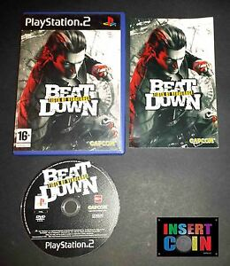 JUEGO-BEAT-DOWN-FISTS-OF-VENGEANCE-PAL-UK-PLAYSTATION-2-PS2-PS3