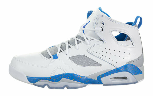 online store 6a058 20b50 Nike Men's Jordan Flight Club '91 SNEAKERS White Blue Size 10 Display Model