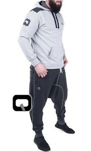huge selection of e09ab 9b954 Details zu 1 X Qabail Hoodie Anzug - Sunnah - Sackförmige Hose Jogging -  Komplett Set