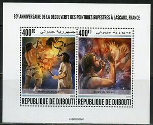 DJIBOUTI-2020-80th-DISCOVERY-ANN-LASCAUX-CAVE-PAINTINGS-SHEET-MINT-NH