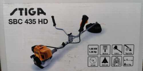 Stiga SBC 435 HD Freischneider Benzin Sense Trimmer  Motorsense