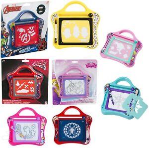 Kids-Small-Magnetic-Scribbler-My-Little-Pony-Frozen-Spiderman-Doodle-Sketch-3-Y