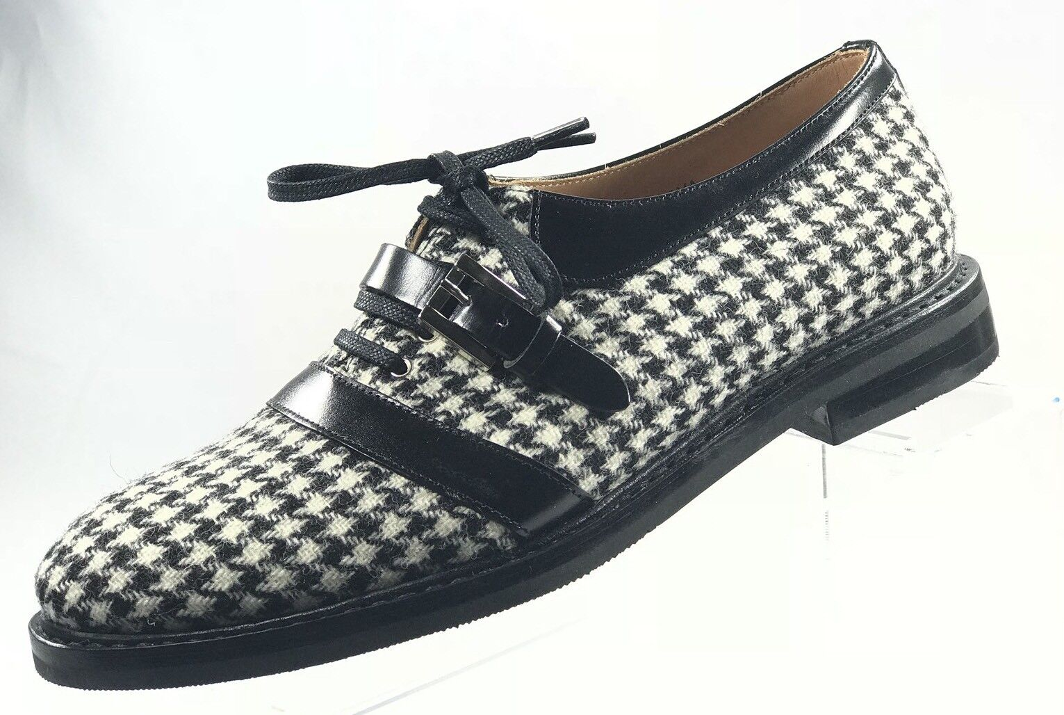 ATELIERS HESCHUNG Malva Tweed Houndstooth 8 Damens Loafers Größe US 8 Houndstooth / UK 6 51fd74