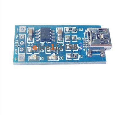 2PCS TP4056 5V Mini USB 1A Lithium Battery Charging Board Charger Module 4V-8V
