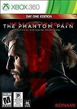 Xbox 360 Metal Gear Solid V The Phantom Pain Day One Edition New