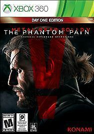 XBOX-360-Metal-Gear-Solid-V-The-Phantom-Pain-NEW-amp-SEALED-FREE-SHIPPING