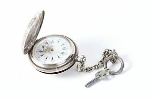Pocket Watches Antique Pocket Watch J.dent London Silver Case 0.800 Key Wind Ottoman/turkey To Be Distributed All Over The World Jewelry & Watches