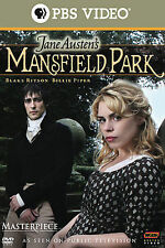 Mansfield Park (DVD, 2008) PBS Masteriece w/Billie Piper Sealed Free Mailing