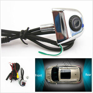 Car Reverse Parking 170°wide viewing angle&License Plate Screw Camera for Jaguar