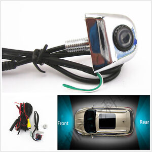Car Reverse Parking 170°wide viewing angle/&License Plate Screw Camera for Jaguar
