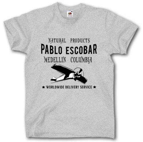 PABLO ESCOBAR SHIRT S-5XL PLATA O PLOMO NARCOS COLOMBIA GANGSTER COCAINE MAFIA