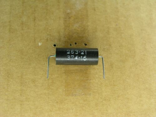 2 Pc Lot S00774-271-1 -1 /% Axial polystyrene capacitor 3740 pf 100 volt 100V