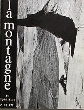 La Montagne et Alpinisme n°104 - 1976 - Alpinisme au Féminin - Escal- Les Grigne