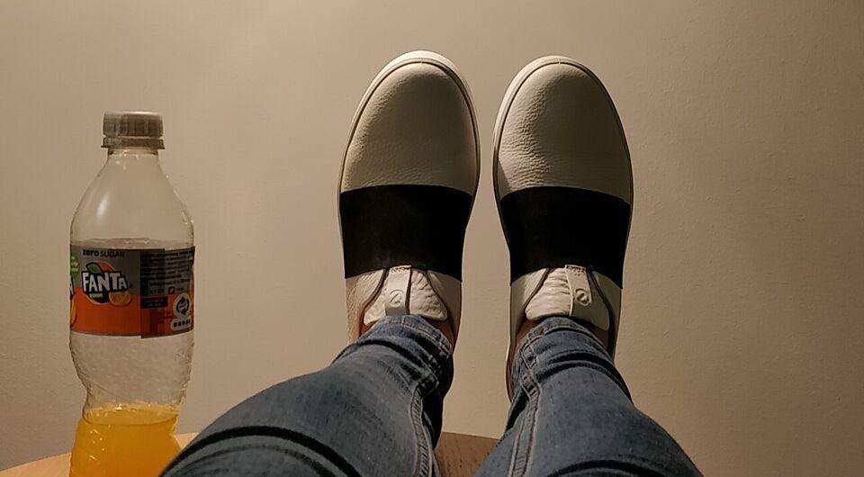 Sneakers, str. 40, Ecco