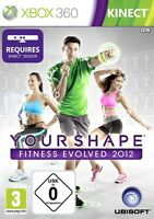 Xbox 360 Your Shape Fitness Evolved 2012 Neu&ovp Kinect Erforderlich
