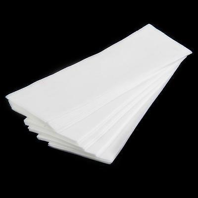 100x Non-woven Hair Removal Paper Depilatory Wax Strip Epilator Waxing Tool
