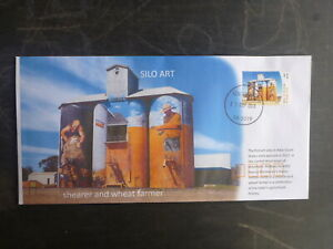 2018-AUSTRALIA-SILO-ART-WEETHALLE-NSW-ILLUSTRATED-FDC-FIRST-DAY-COVER