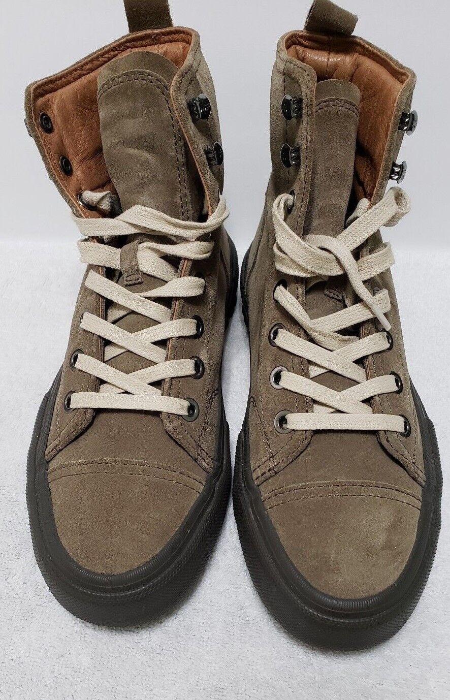 FRYE Mens 9 Frye Ryan Military Ankle Boot