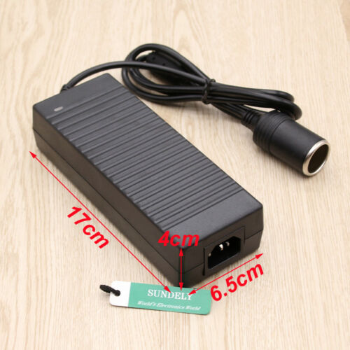12V 10A 120W AC DC Adapter Car Cigarette Lighter converter Power Supply 100-240v