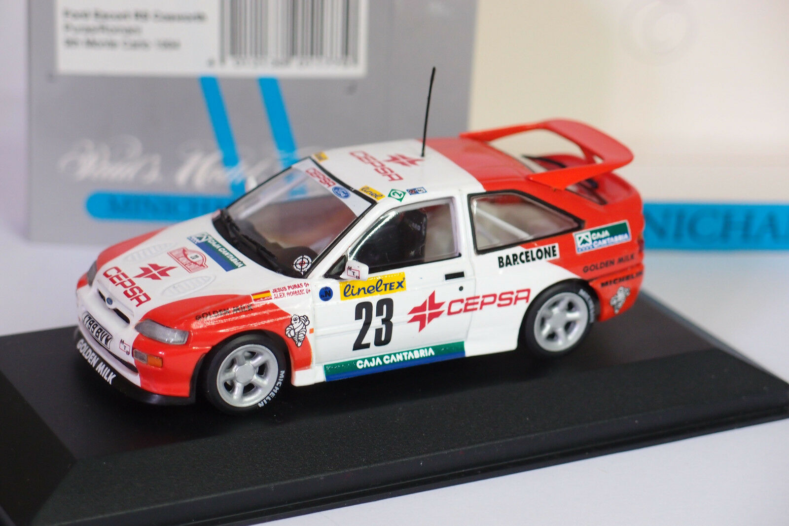 MINICHAMPS FORD RS COSWORTH  23 MONTE CARLO 1994 1.43