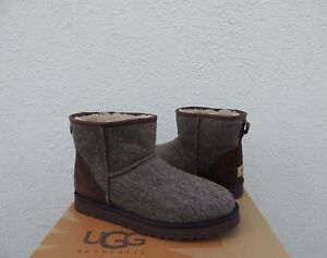 5c8faeb5dbb Details about UGG MENS CLASSIC MINI WOOLRICH DONEGAL SHEEPSKIN BOOTS, US 9/  EUR 42 ~NEW