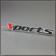 Metalic 3D Sports Racing Car Badge Emblem Sticker Refitting Decals Emblems New