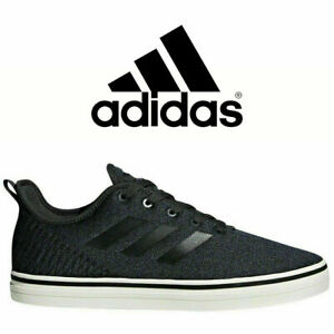 NEW-ADIDAS-Defy-True-Chill-Men-039-s-Black-White-Skateboarding-Sneaker-Shoes