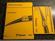 Vermeer 3 Point Mower Parts Maintenance Operators Manual