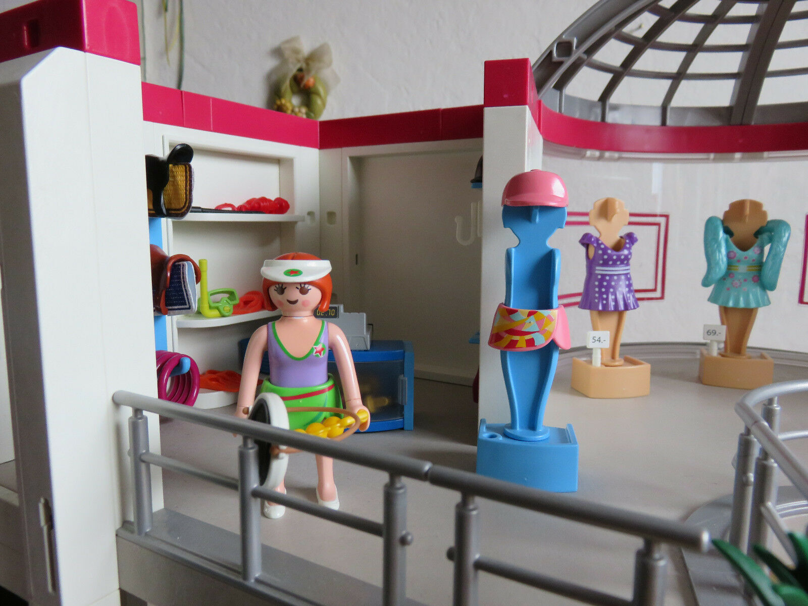Playmobil 5485  Shopping Center mit Erweiterung 6333 6333 6333 in OVP komplett bd2ac0