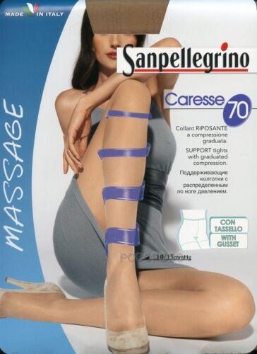 CARESSE 70 COLLANT RIPOSANTI 70 DEN DONNA 10//15 mmHg SANPELLEGRINO ART
