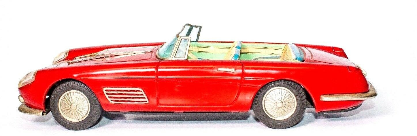 Vintage Super Selten Blech Reibung Ferrari Super America 2-door Coupe