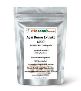 Acai-Beere-Berry-6000-250-Kapseln-Fettverbrennung-Detox-Diaet-PN-0102503