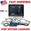 "thumbnail 2 - LCD 12.1"" Portable Touch Patient Monitor Vital Signs ECG NIBP RESP TEMP SPO2 PR"