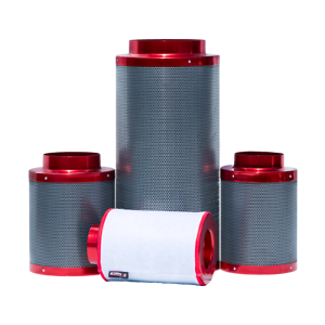 "Red Scorpion Pro Carbon Air Filter 8/"" 200x600mm Hydroponics Odour Control Rhino"
