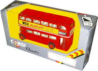 Corgi Classics Die-cast Metal 1930 Aec Bus - Vintage 1985 - Collectible Misb
