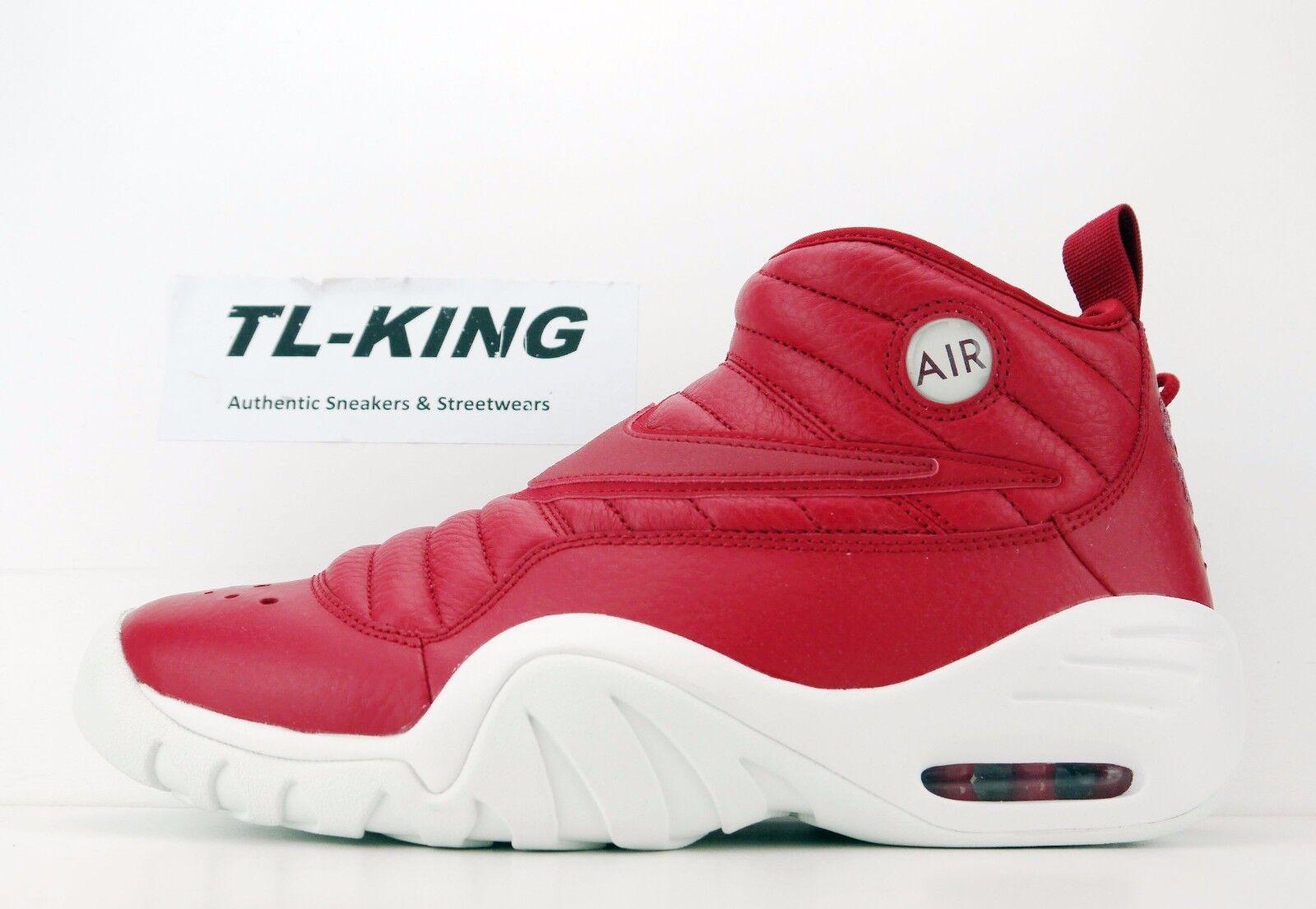 Nike Air Shake Ndestrukt Dennis Rodman Gym Red Summit White 880869 600 Price reduction Casual wild