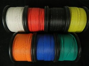 16 GAUGE GPT WIRE PICK 10 COLORS 100 FT EA PRIMARY AWG STRANDED 100/% OFC COPPER