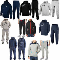 Mens Nike Foundation 2 Fleece Hoody Sports Jogging Full Tracksuit Active S 2 XL