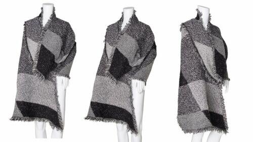 Women/'s Stylish Fashion Cape Style Oversized Scarf Blanket Scarves Wrap Shawl