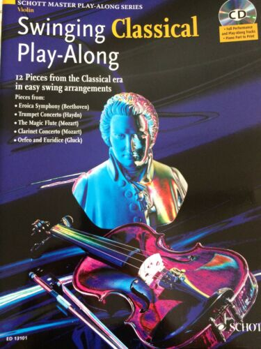 Singing Classical Play-Along 12 Pieces from Classical era in easy arrangements