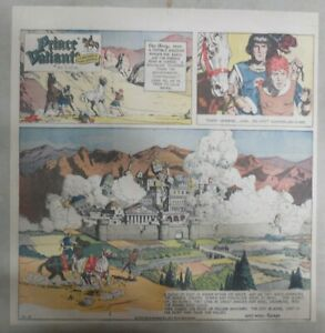 Prince-Valiant-Sunday-by-Hal-Foster-from-10-3-1971-2-3-Full-Page-Size