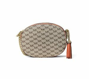 38b5dd3c9c7b Image is loading Michael-Kors-Studio-Ginny-Medium-Messenger-Crossbody-Bag-