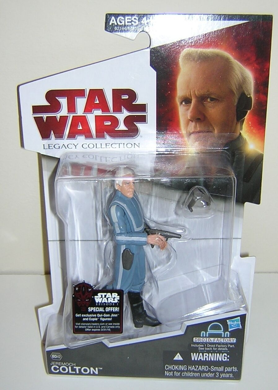 Star Wars Legacy Legacy Legacy Collection BD42 Jeremoch Colton  d49009