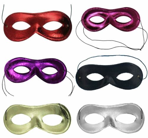 Adult Masquerade Domino Sequin Face Eye Mask Hen Party Fancy Dress Accessory
