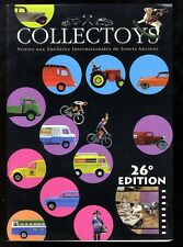 COLLECTOYS  26 eme  vente de jouets anciens      17 novembre 2001