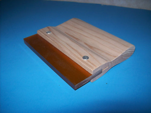 """NEW 4/"""" SCREEN PRINTING SQUEEGEE  70 DUROMETER"""